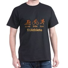 Swim Bike Run TriAthlete T-Shirt