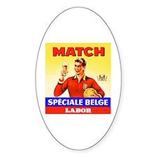 Belgium Beer Label 9 Decal