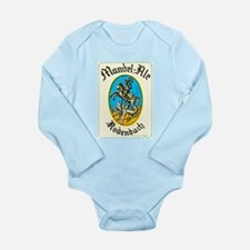 Belgium Beer Label 8 Long Sleeve Infant Bodysuit