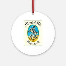 Belgium Beer Label 8 Ornament (Round)