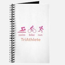 Swim Bike Run TriAthlete Journal