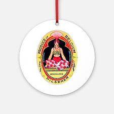 Belgium Beer Label 7 Ornament (Round)