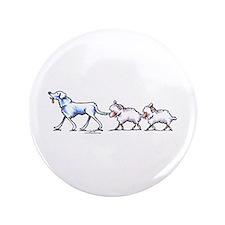 """Akbash Dog n Sheep 3.5"""" Button"""