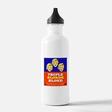 Belgium Beer Label 5 Water Bottle