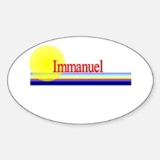 Immanuel Oval Decal