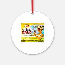 Belgium Beer Label 4 Ornament (Round)