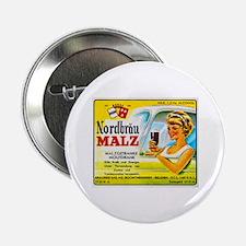 """Belgium Beer Label 4 2.25"""" Button"""