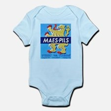 Belgium Beer Label 3 Infant Bodysuit