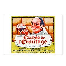 Belgium Beer Label 2 Postcards (Package of 8)