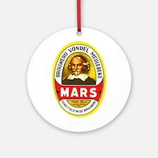 Belgium Beer Label 1 Ornament (Round)