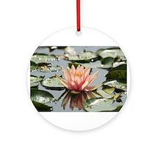 Lilly Pond Ornament (Round)