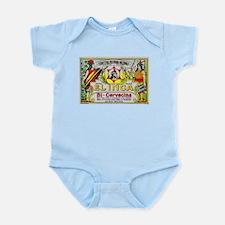 Bolivia Beer Label 3 Infant Bodysuit