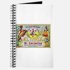 Bolivia Beer Label 3 Journal