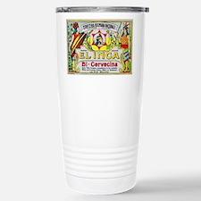 Bolivia Beer Label 3 Travel Mug