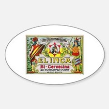 Bolivia Beer Label 3 Decal