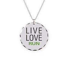 Live Love Run Necklace