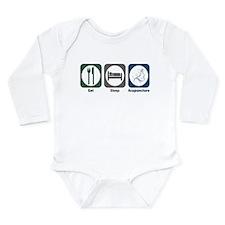 Cute Acupuncturist Long Sleeve Infant Bodysuit
