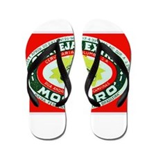 Brazil Beer Label 2 Flip Flops