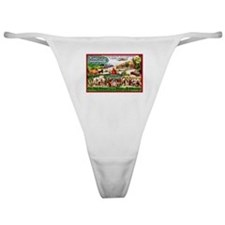 Canada Beer Label 15 Classic Thong