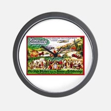 Canada Beer Label 15 Wall Clock