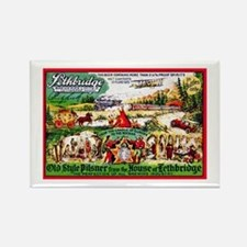 Canada Beer Label 15 Rectangle Magnet