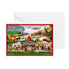 Canada Beer Label 15 Greeting Card