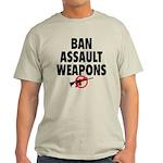 BAN ASSAULT WEAPONS Light T-Shirt