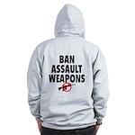 BAN ASSAULT WEAPONS Zip Hoodie