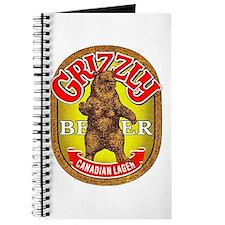 Canada Beer Label 14 Journal