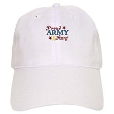Army Aunt (collage) Baseball Cap