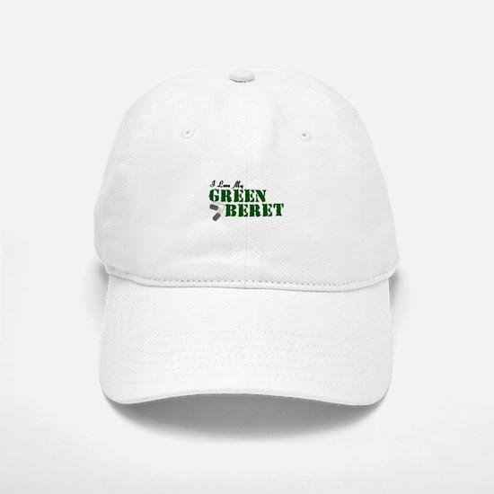 I Love My Green Beret Baseball Baseball Cap