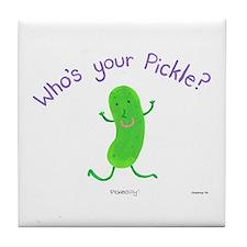Pickle Tile Coaster