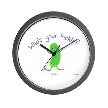 Pickle Wall Clock