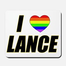 I heart Lance Mousepad