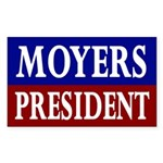 Moyers for President '08 (bumper sticker)