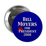 Bill Moyers for President (100 buttons)