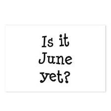 Is It June Yet School Postcards (Package of 8)