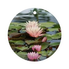 Suttle Lilly Ornament (Round)