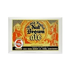 Canada Beer Label 10 Rectangle Magnet