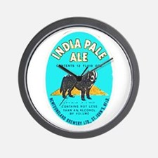 Canada Beer Label 8 Wall Clock
