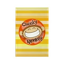 Cheeky Monkey Rectangle Magnet