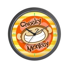 Cheeky Monkey Wall Clock