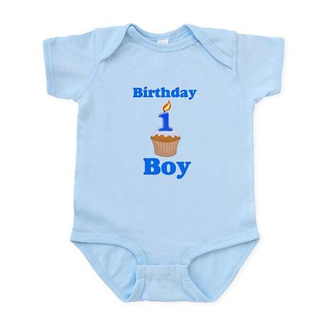 1 year old Birthday boy Infant Bodysuit