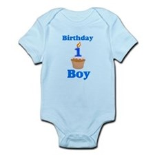 1 year old Birthday boy Infant Bodysuit