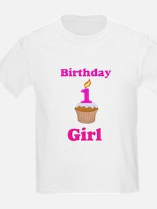 1 year old Birthday girl T-Shirt