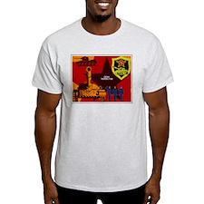 Tankman Day Ash Grey T-Shirt