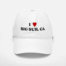 I Love BIG SUR Baseball Baseball Cap