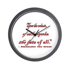 """The Meaning of """"Team"""" Wall Clock"""