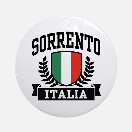 Sorrento Italia Ornament (Round)