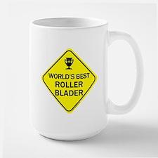 Roller Blader Mugs